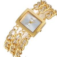 WEIQIN Women Watches Alloy Luxury Brand New Casual Fashion Female Wristwatches Quartz Top Creative Girls Relogio