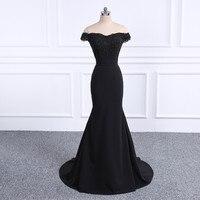 2018 Prom Dresses Robe De Soiree black Prom Dress Real Photo Sweetheart Mermaid Prom Dresses Long Vestido De Festa