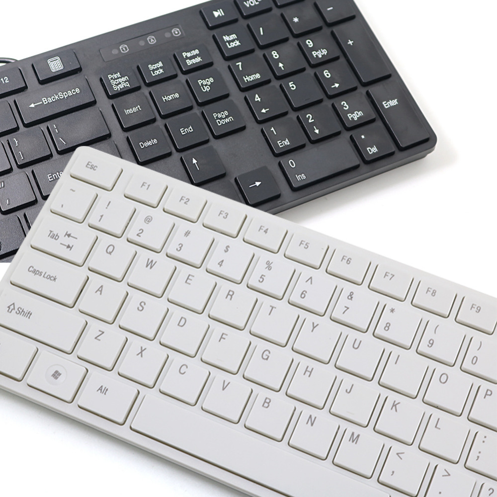 free shipping for apple keyboard computer notebook usb keyboard keyboard cover wired waterproof. Black Bedroom Furniture Sets. Home Design Ideas