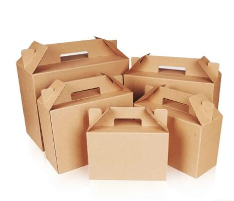 Custom Made Colored Small Corrugated Printed Carton Shipping Boxes Wholesale