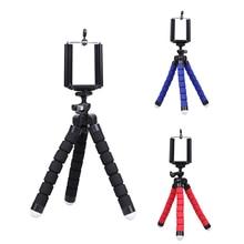 Alloet Mini Tripod Phone Holder Mount Selfie Portable Camera Tabletop Travel Tripod For Samsung Sony Huawei