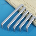 Fast Shipping In Stock Space aluminum handle Kitchen Furniture pulls wardrobe handle drawer handle
