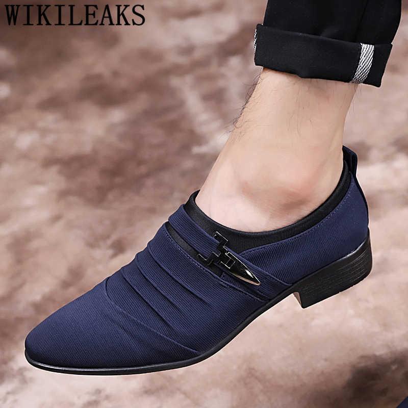 أحذية الزفاف للرجال 2019 الأحذية الكلاسيكية الرجال فستان المتسكعون حذاء كاجوال أحذية رجالي اللباس شوينن هيرين zapatos elegantes hombre