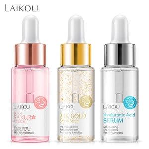 LAIKOU Makeup Base Moisturizing Essence 24k Gold Elixir Oil Control Professional Matte Serum Series Brand Foundation Primer 1pcs(China)