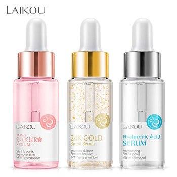 LAIKOU Makeup Base Moisturizing Essence 24k Gold Elixir Oil Control Professional Matte Serum Series Brand Foundation Primer 1pcs