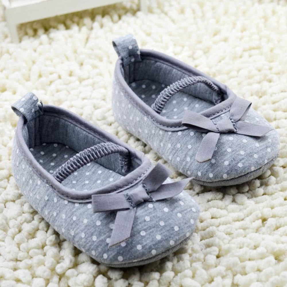 Girls Newborn Baby princesa zapatos infantiles zapatos del niño de la mariposa f