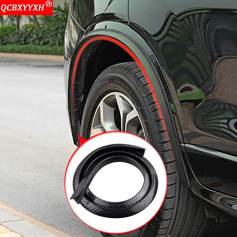 Car styling Car Fender Extension Wheel Eyebrow Protector Lip Wheel arch Trim Wheel Eyebrow Arch Decorative