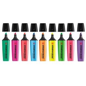 Image 5 - Stabilo 파스텔 형광펜 세트 분필 마커 textmarker 형광펜 학교 그림 fosforlu kalem bullet 저널 용품
