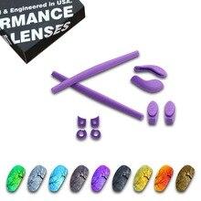 ToughAsNails Polarized Replacement Lenses & Purple Ear Socks for Oakley Juliet Sunglasses - Multiple Options