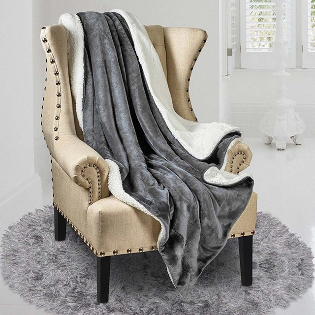 Us 16 47 10 Off 130 160cm Double Layer Cooling Breathable Blanket Thick Soft Throw Fleece Blanket For Couch Bed Plane Travel Adult Home Textile In