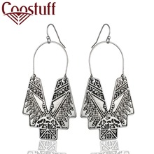 New Arrival Vintage Silver Gold Wholesale Beautiful Handmade Women Earrings Dangle pendientes brincos long earrings Jewelry