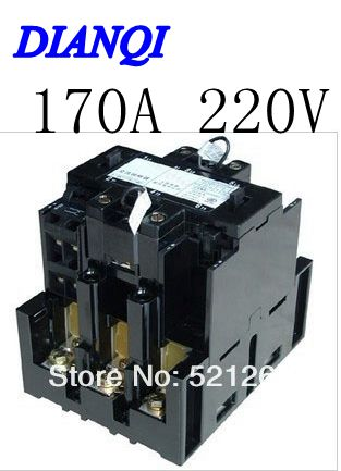 CJX8-170 ac contactor B Series Contactor CJX8  B170 220V 170A 50/60HZ gmc 220 ac electromagnetic contactor brand new