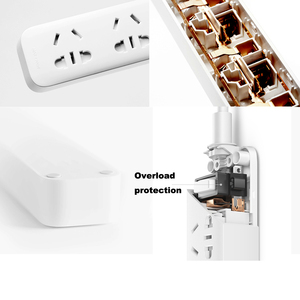 Image 5 - Original Xiaomi power strip With 3 USB Extension Socket Plug Multifunctional Fast Charging Power Strip 10A 250V 2500W