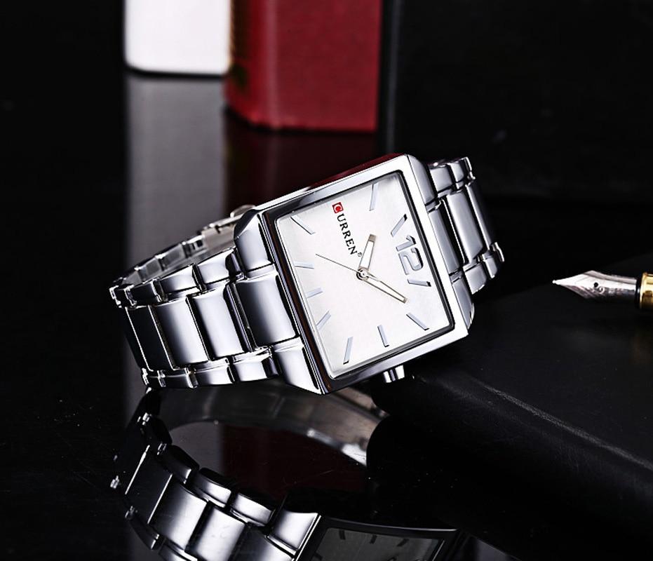 f9495a256609 Curren 8132 hombres nueva moda Relojes deportivos