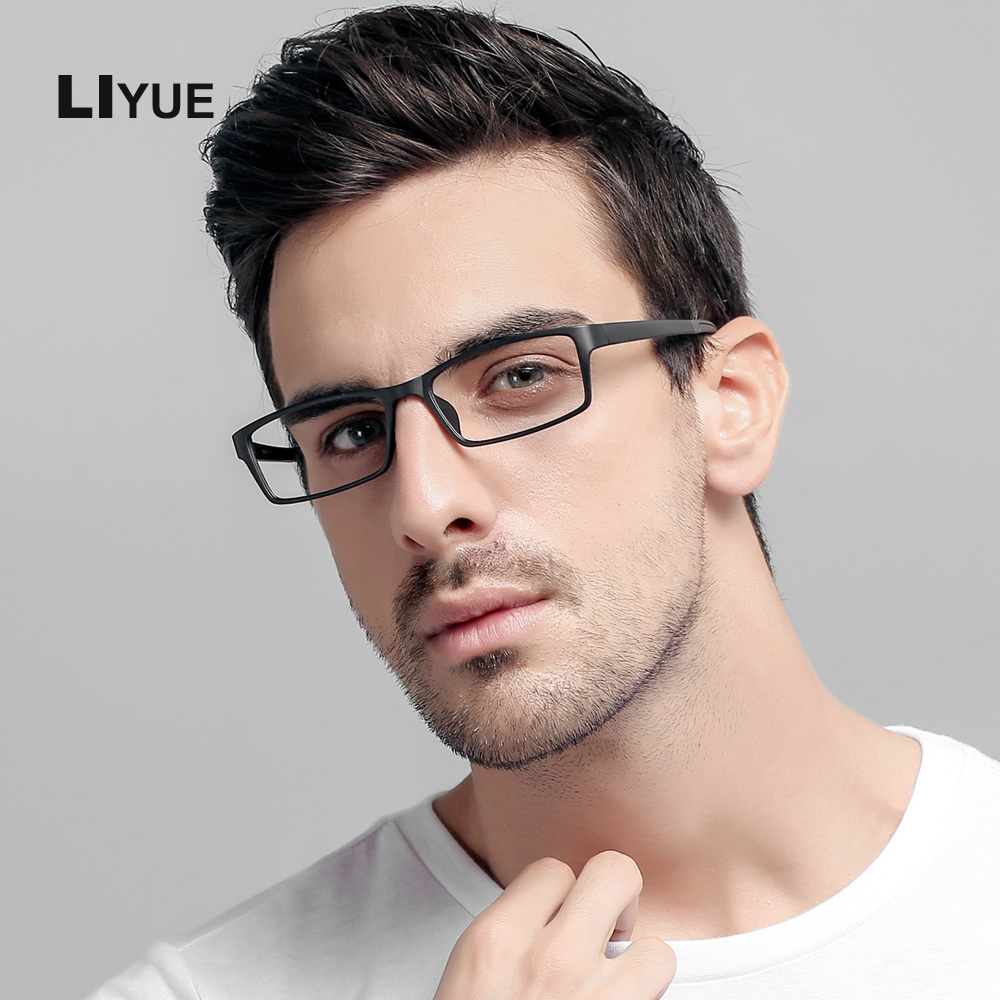 Fashion vintage briller rammer mænd myopi kvinde optisk ramme briller Ultra Light Clear Lens Reading briller rammer 1308