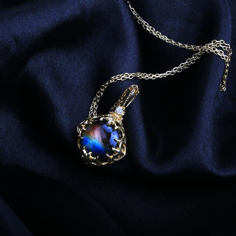 Handmade Labradorite Pendants~Handmade Beaded Gemstone Jewelry~Labradorite Gemstones~Handmade Pendants~Handmade Gemstone Jewelry Pendants