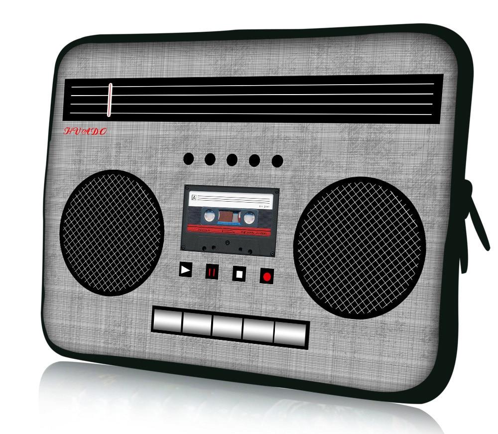 "Radio Soft 12"" Neoprene Soft Laptop Netbook Sleeve Case"