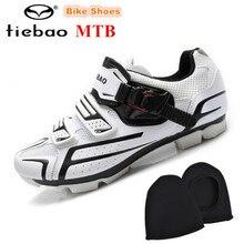 TIEBAO Cycling Shoes Professional Bicycle  Mountain Bike Knob Racing Athletic Shoes sapatilha ciclismo mtb Self-locking Shoes
