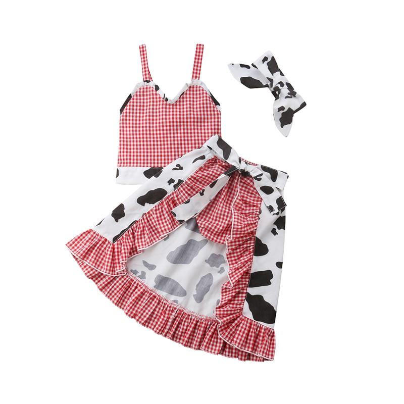 17243f8b4f411 ộ_ộ ༽Pudcoco Toddler Baby Girls Summer Clothing Set Straps Crop ...