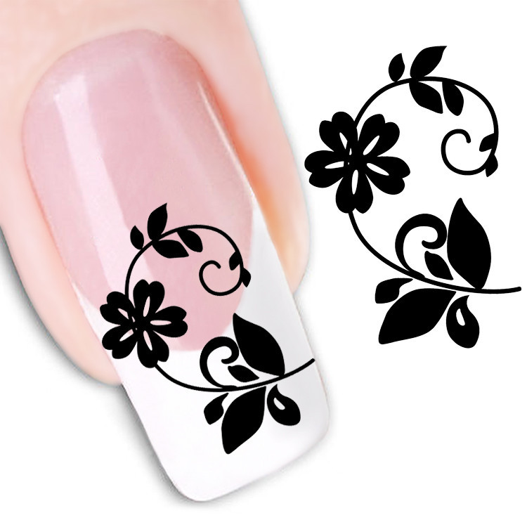 picture about Printable Nail Decals referred to as Printable Nail Artwork Stickers Ideal Nail Programs 2018