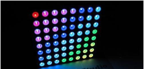 5X RGB Full Color Dot Matrix LED 8x8 Display 60x60mm Arduino Colorduino ac Free shipping grid 8x8 led