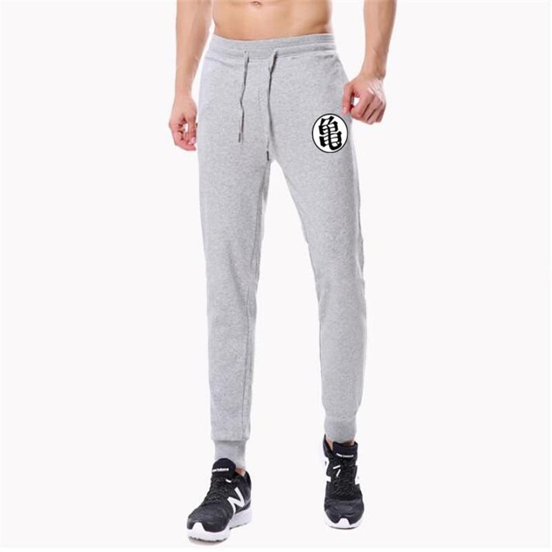 Casual Funny Print Dragon Ball Goku Mens Pants Cotton Autumn Winter Gray Men Joggers Sweatpants Plus Size Black Trouser pantalon 6