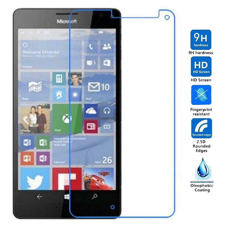 2pcs Screen Tempered Glass For Microsoft Nokia Lumia X Xl 640 950 550 535 730 735 Protector Film For Nokia Lumia 1820