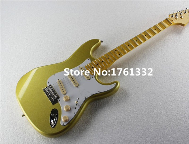 Yellow Guitar Pickups : factory custom 22 frets golden yellow electric guitar with scalloped neck basswood body 3 ~ Hamham.info Haus und Dekorationen