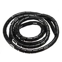 Imc Горячая 16 Средства ухода за кожей стоп спираль Провода Обёрточная Бумага трубки управлять шнур Best для ПК компьютер Кино дома кабель 16 мм