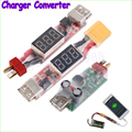 Wholesale 1pcs 2S-6S Lithium Battery Charger Converter T-Plug XT60 Plug With Voltage Display for iphone Ipad HTC Dropshipping