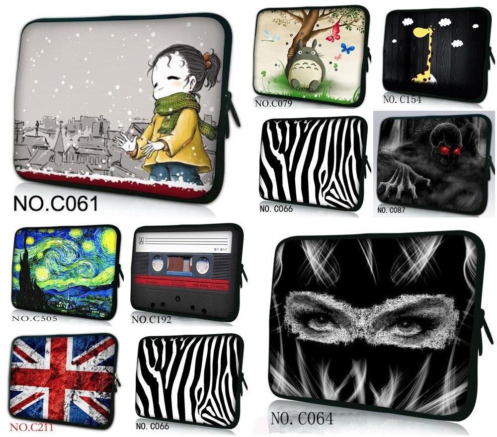 Women Laptop Bag 7 8 10 12 13 15 15.6 17 14 Computer Bag 15.6 PC Sleeve Bag Case Notebook Tablets Protector Pouch Case + Handle