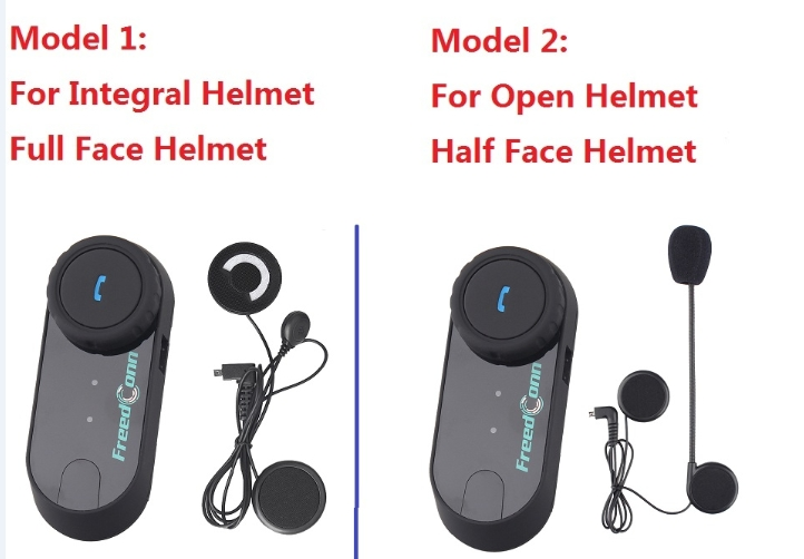 FreedConn TCOM-OS FM 100m BT Bluetooth Motorcycle Helmet Intercom Interphone Headset