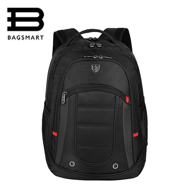 BAGSMART Brand 15.6'' Laptop Bag Men's Computer Backpack Large Capacity School Compact For Men Business Backpacks Boys
