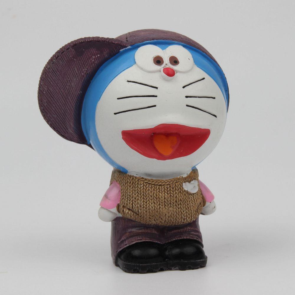 High quality Silicone mould Viking Doraemon 3D fondant cake mold Handmade soap mold resin clay craft DIY Gypsum incense tools