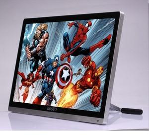 Image 4 - BOSTO 22 UMini 21.5in Professionnel Full HD Art Graphique Tablette Moniteur à Tirage 8192 Niveaux Stylo et Artiste Dessin Gant et Stand
