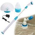 Турбо-скраб для дома, ванная комната, чистящий инструмент, вращающаяся щетка для ванны, мощность для очистки ванн, плитка для мытья пола, щет...