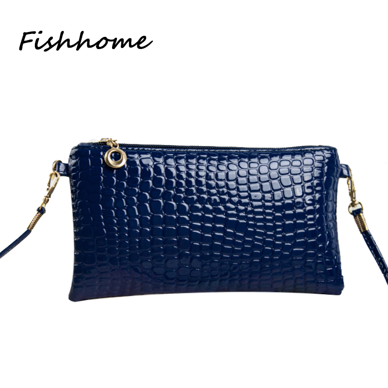 2017 New Mini Crocodile Stone Pattern Women Messenger Bag Young Lady Small Flap Shoulder Bag Girls Crossbody Phone Bolsa HYX230