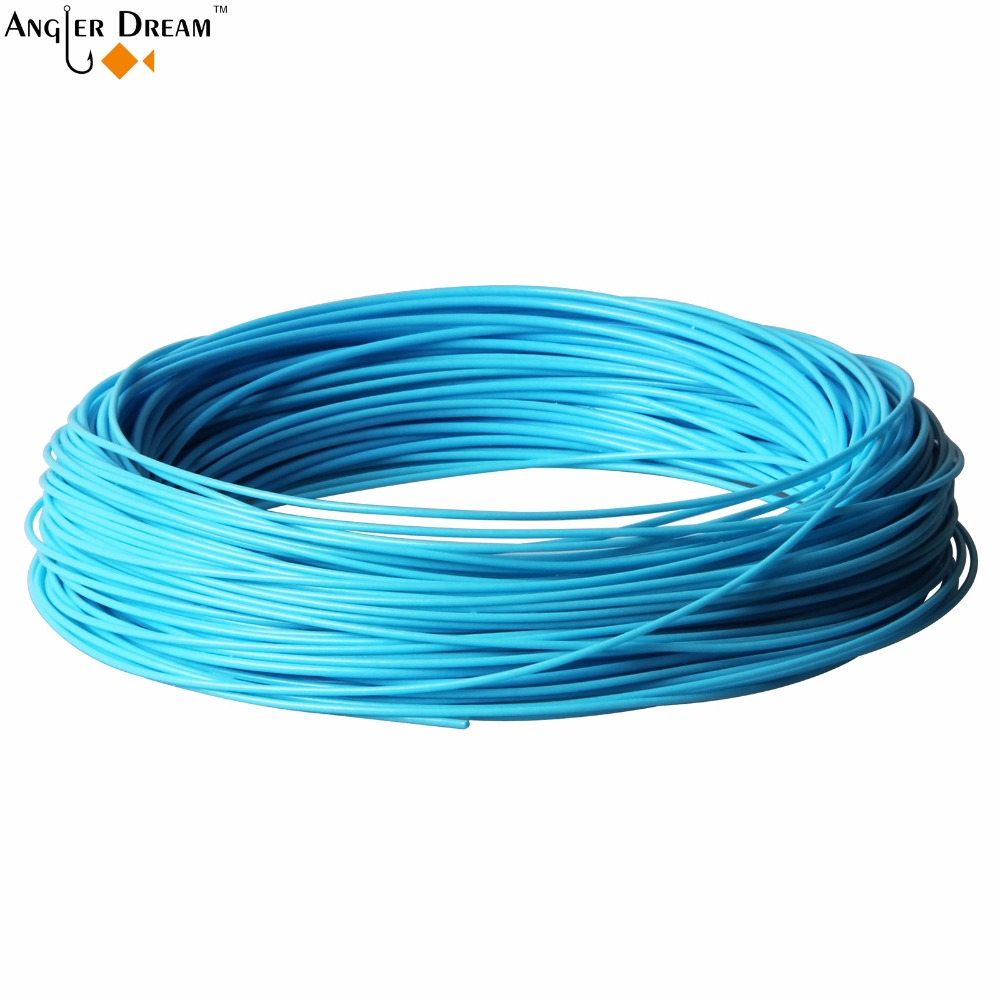 100FT 30m Weight Forward Floating Fly Fishing Line WF4F Fly Line Teal Blue