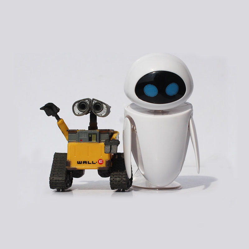 Optional Wall-E Robot EVE PVC Action Figure Wall E Collection Model Toys Dolls high quality oversize 52cm bearbrick be rbrick matt diy pvc action figure toys bearbrick blocks vinyl doll 3 color optional