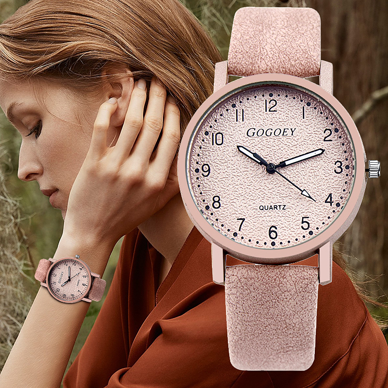 2018 Gogoey Top Brand Women's Watches Fashion Wrist Watch Women Watches Leather Strap Ladies Watch saat bayan kol saati relojes