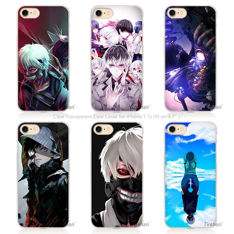 tokyo ghouls hard transparent iphone case cover anime crazy store. Black Bedroom Furniture Sets. Home Design Ideas