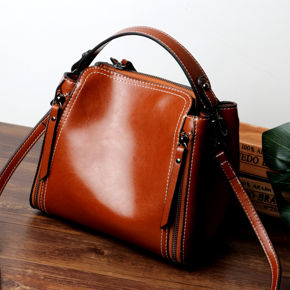 New Fashion Women Leather Handbags Shoulder Genuine Leather Designer High Quality Crossbody Bags For Women Real Leather new C410