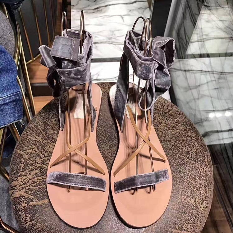 En Mariage Gladiateur À De as Sandales Chaussures Chic Cheville Pic Femme Bout Élégant Romain Plein Mode Air As D'été Plage Bride Lacets La Pic Marque Ouvert 5wU516nXq