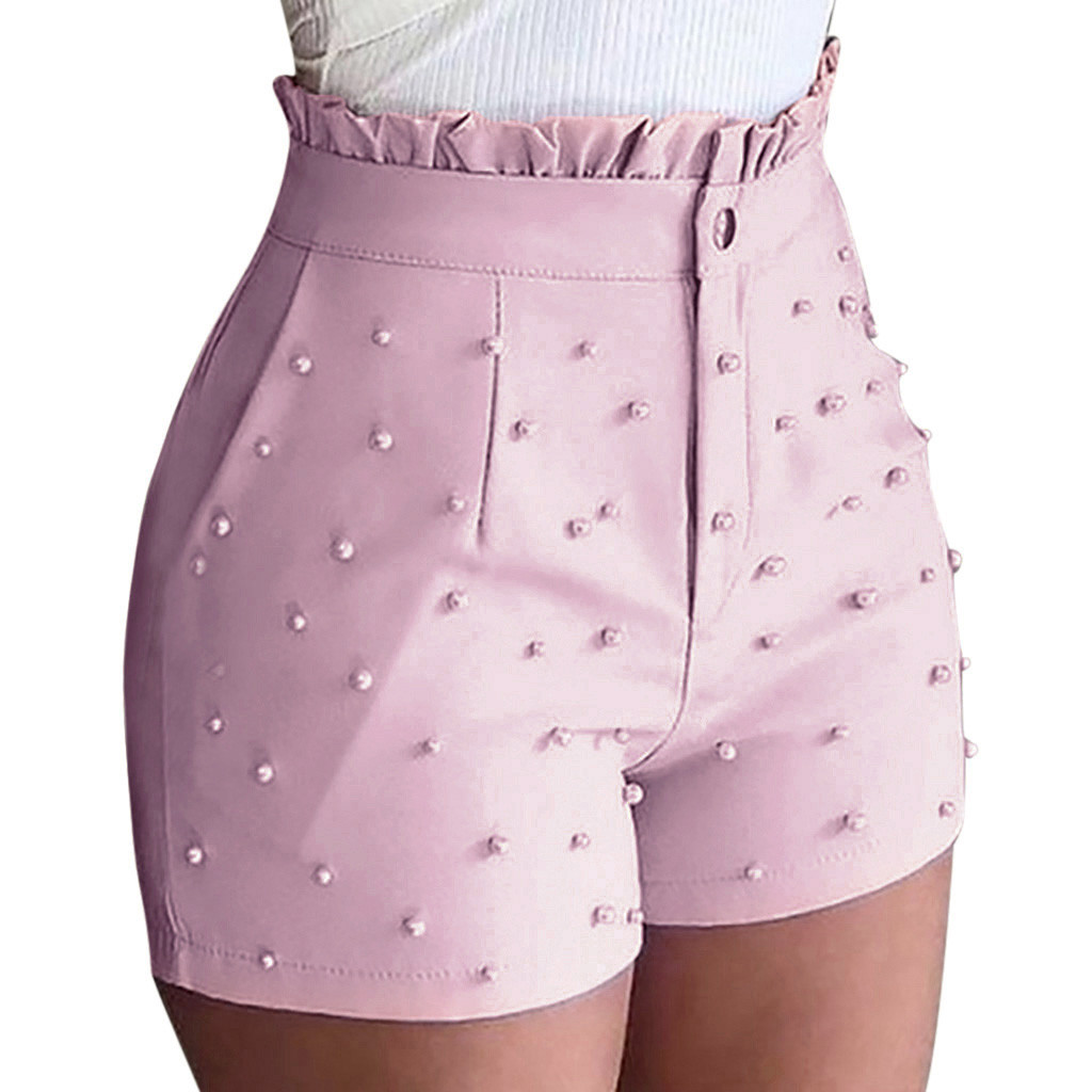 Women's Models Solid Color Look Shorts Sexy Summer Shorts