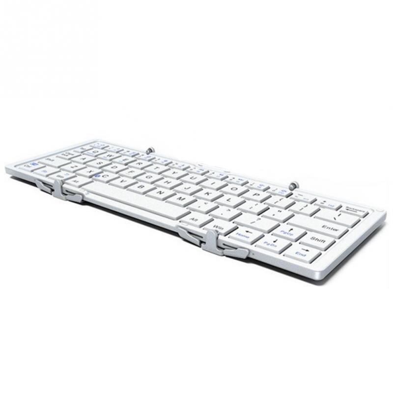 Folding Mini Wireless Bluetooth Ultra thin Keyboard which