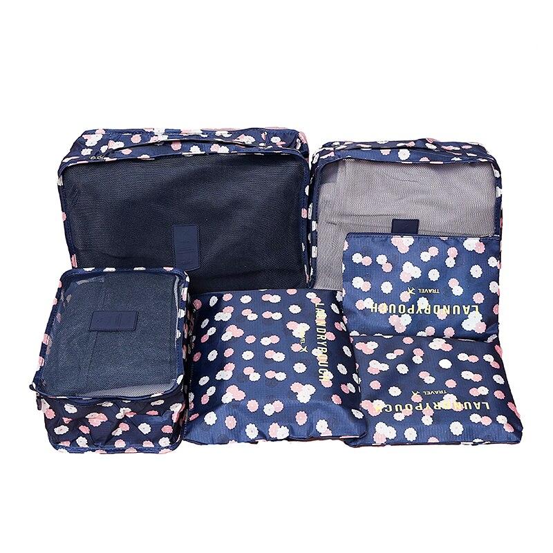 6 ADET / TAKıM Giysi Depolama Organizasyon Seyahat Seti Bavul - Evdeki Organizasyon ve Depolama - Fotoğraf 4