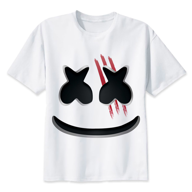 Marshmello t shirt men print t shirts fashion print t shirts short marshmello t shirt men print t shirts fashion print t shirts short sleeve o neck tees mmr2171 in t shirts from mens clothing accessories on stopboris Choice Image