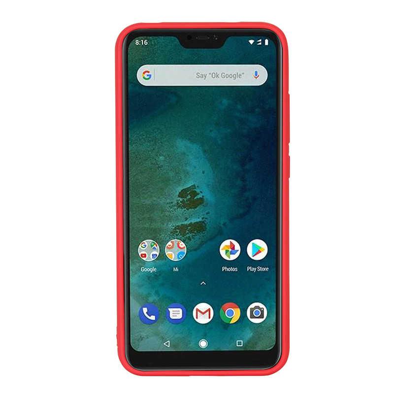 Silicone Phone Case For Xiaomi POCOPHONE F1 Redmi 6 Pro A2 lite Official Cover For Xiaomi Mi 6X  Cases For Redmi 6 6A Retail Box