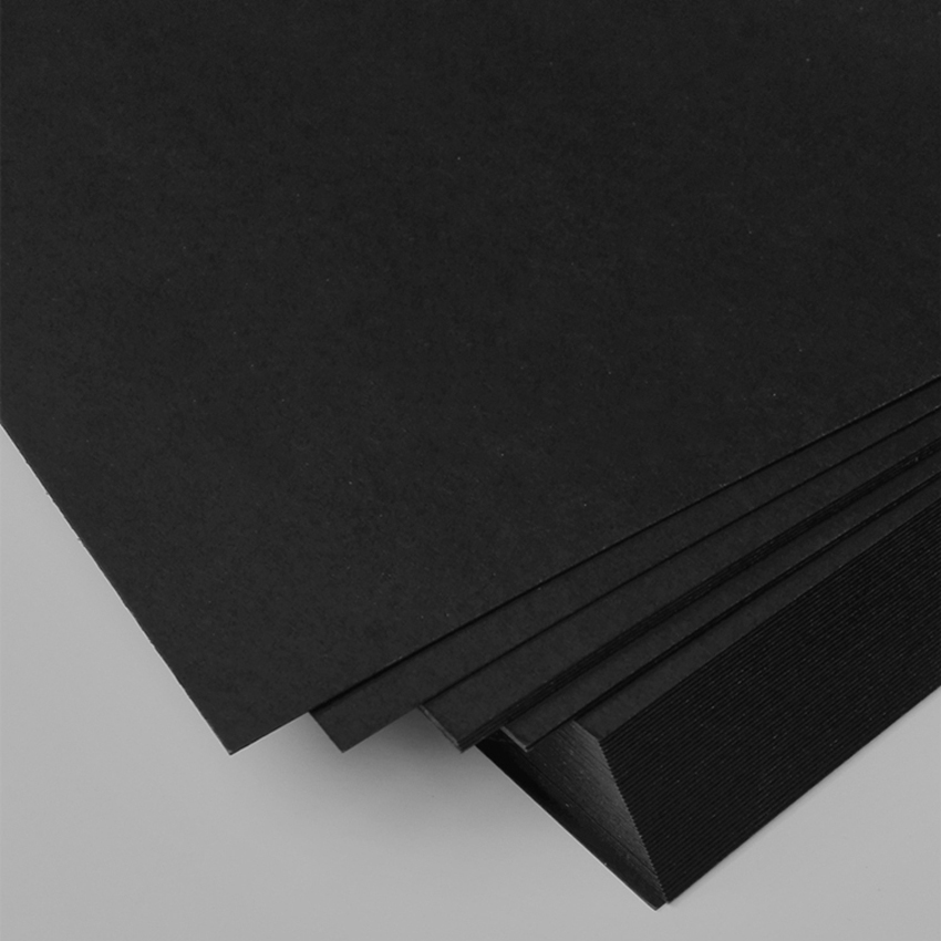 US $23 93 15% OFF|50pcs free shipping A4 size 21x29 7cm Black paper 250gsm  card paper, DIY gift cardboard DIY model wedding party decorations-in Party