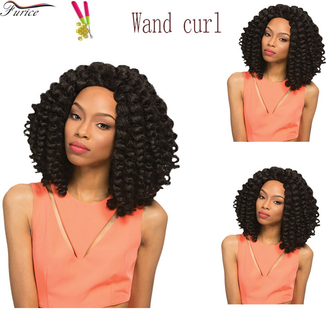 New Hairstyle Jamaican Bounce 8 Inch Crochet Braids Faux Locs